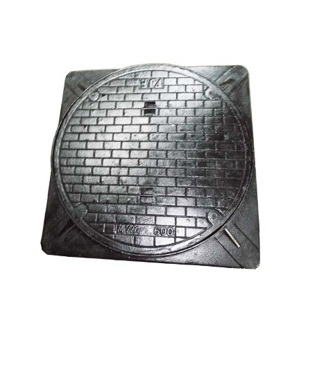 Square cast iron lid